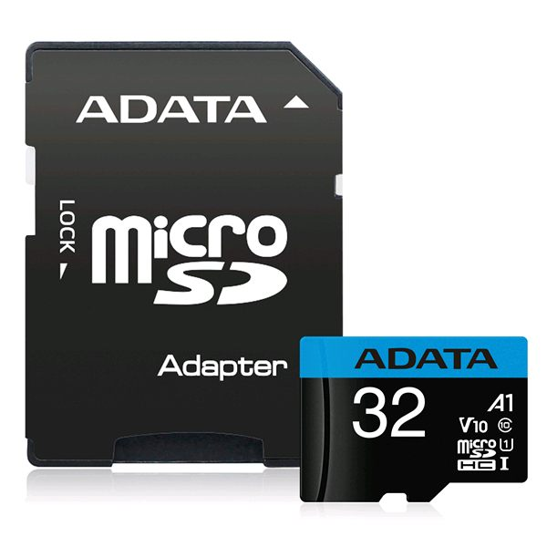 256GB A-Data Premier A1 V10 Micro SDXC with Adapter, UHS-I Class 10