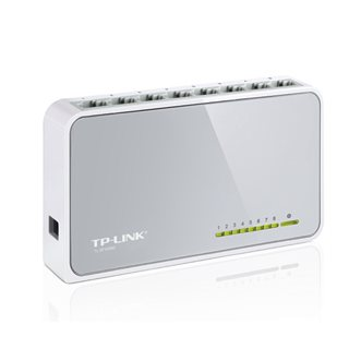TP-Link TL-SF1008D 8 Port 10/100 Desktop Switch